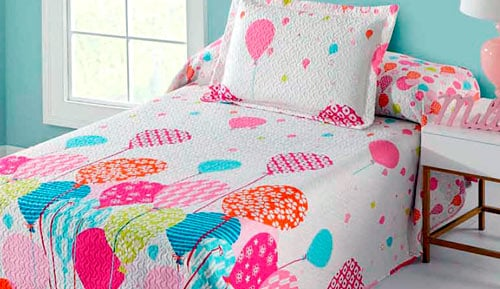 Bouti bedspread + Cushion cover - Aruba