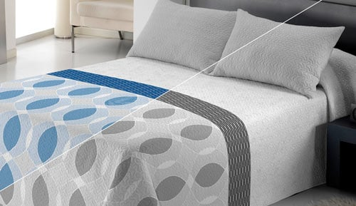 Bouti bedspread + Cushion cover - Leila