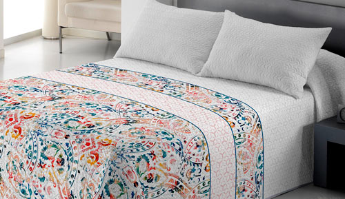BOUTI BEDSPREAD + cushion - Yarely
