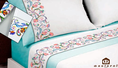Bed linen set100% cotton - cotton 630 - Manterol