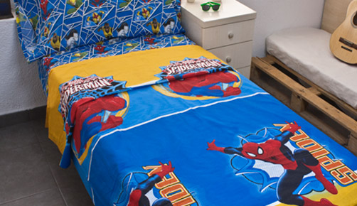 Bed linen set 3 pieces 100% cotton ULTIMATE SPIDER-MAN 722
