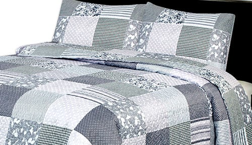 Bouti bedspread + Cushion cover - Mistery