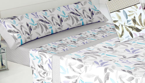 3-piece bed linen set - Bari