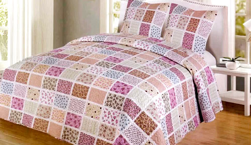Bouti bedspread + Cushion cover - SK002