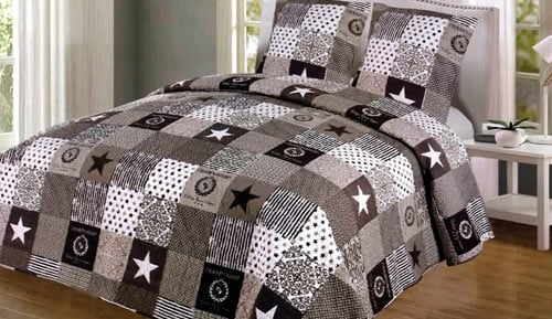 Bouti bedspread + Cushion cover - SK018