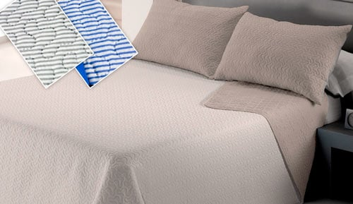 Bouti bedspread + Cushion cover - Lines