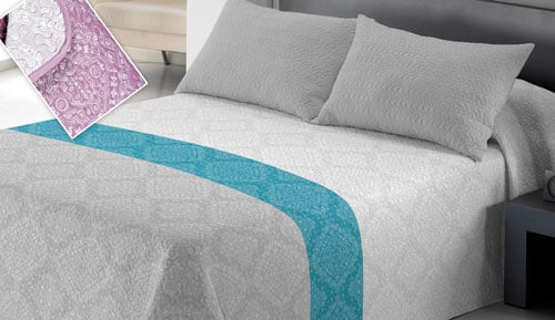 Bouti bedspread + Cushion cover - Frey