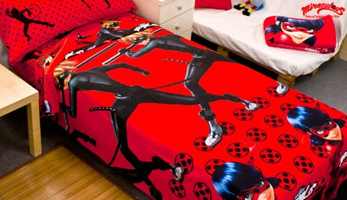 Set of sheets 100% cotton - Ladybug - red - 463