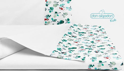 Bed linen set cradle DREAM FOREST by Don Algodón
