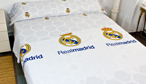 Bed linen set 3 pieces REAL MADRID -RM171166C-
