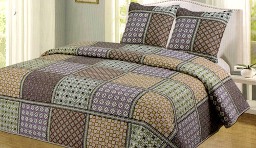 BOUTI BEDSPREAD + CUSHION - 042 SH