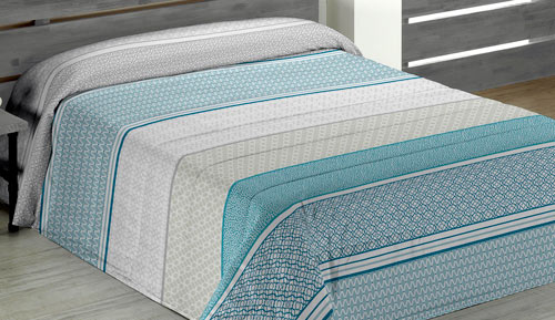Quilt - Quilt winter - turquoise LOWE - Agora