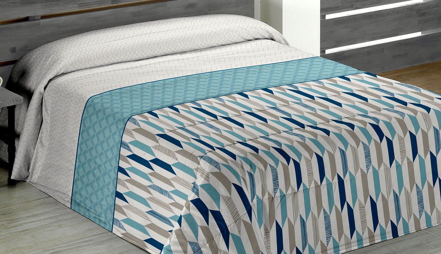 Quilt - Quilt winter - Juliette blue - Agora