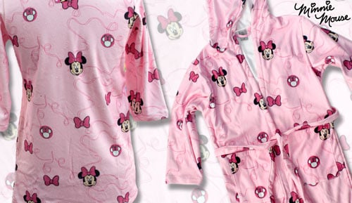 Velours de peignoir microfiber - enfants - Minnie Chic
