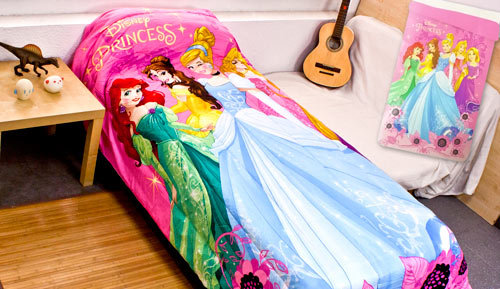 CHILD QUILT - Disney Princesses 815 -