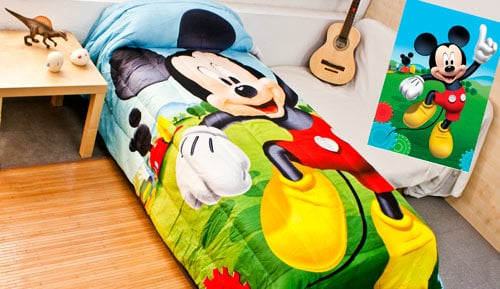 Child QUILT - Mickey Disney 22-
