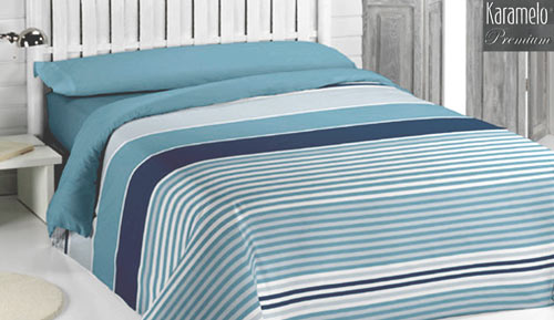 Duvet cover set 3 pieces - SILAS - KARAMELO