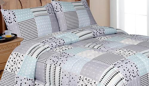 Comforter duvets - CHRIS blue - VALEA