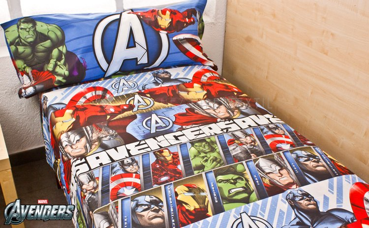 Set of 3 sheets 90 Cm AVENGERS 100-365S