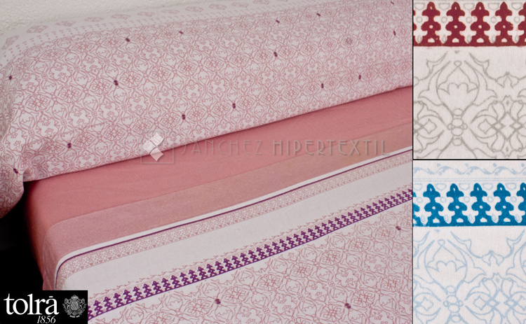 3-piece winter flannel sheet set Clasic T0948 Tolrá