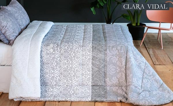 Duvet ALDAS of Clara Vidal beds 135 and 150/160 cm.