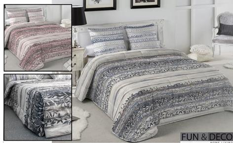 Quilt Fun&Deco -TIBER- For Beds  135-150-180 CM