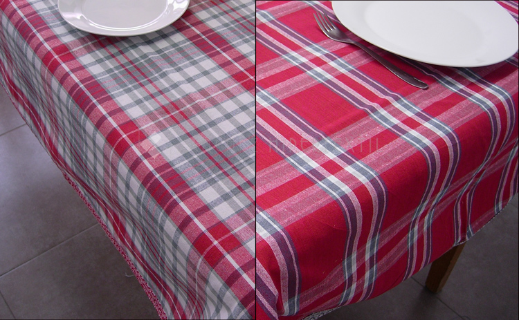 Tablecloth Square Heart
