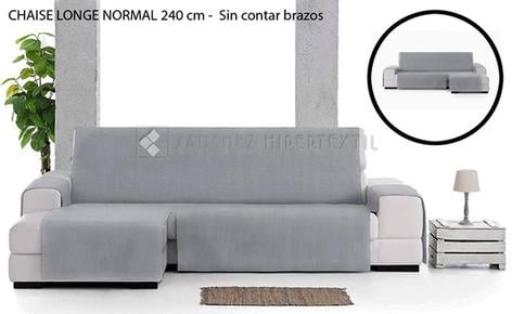 FUNDA SOFÁ UNIVERSAL LONETA - EYSA LEVANTE- Chaise Longue (Normal)