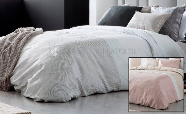 High quality ELQU Jacquard Duvet Cover
