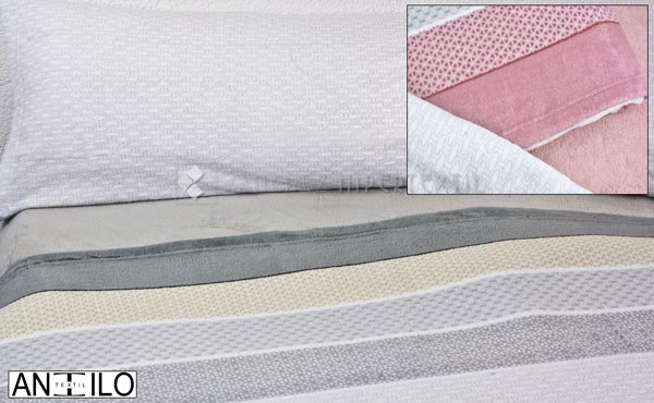 Coral winter sheets set RONI  by Antilo for beds 180 cm.