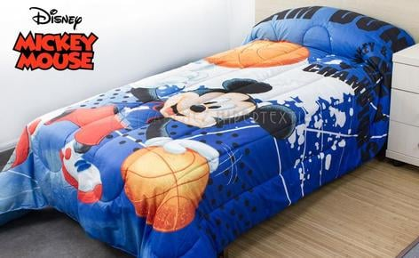 Couette Mickey Mouse Slam Dunk Disney.