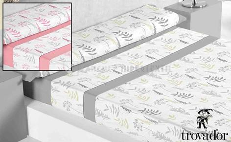 BEDDING SET TROVADOR model ABEDUL