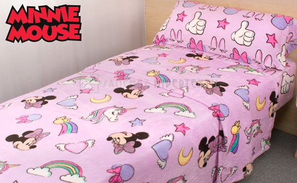 Coralina winter sheet set MINNIE 181 Unicorn