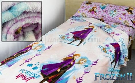 BEDDING SET CORALINA DISNEY FROZEN II  - 033