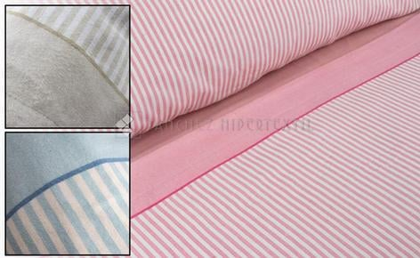 WINTER BEDDING SET 3 PIECES FLANNEL TOLRA T0958