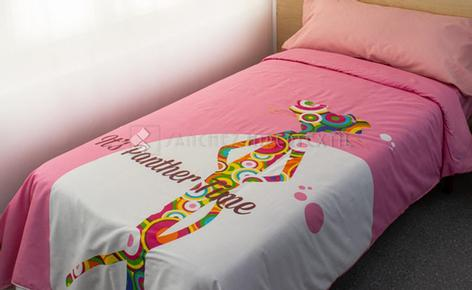 DUVET COVER 3 PIECES PINK PANTER TIME