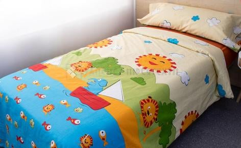 DUVET COVER 3 PIECES LION