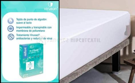 MATTRESS PROTECTOR VELFONT VIRUSAN COTTON 100%