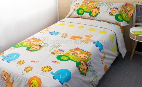 DUVET COVER 3 PIECES JOURNEY THROUGH THE JUNGLE