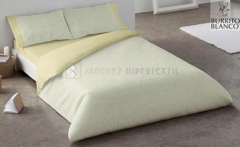 DUVET COVER ORGANIC COTTON MUSTARD 300
