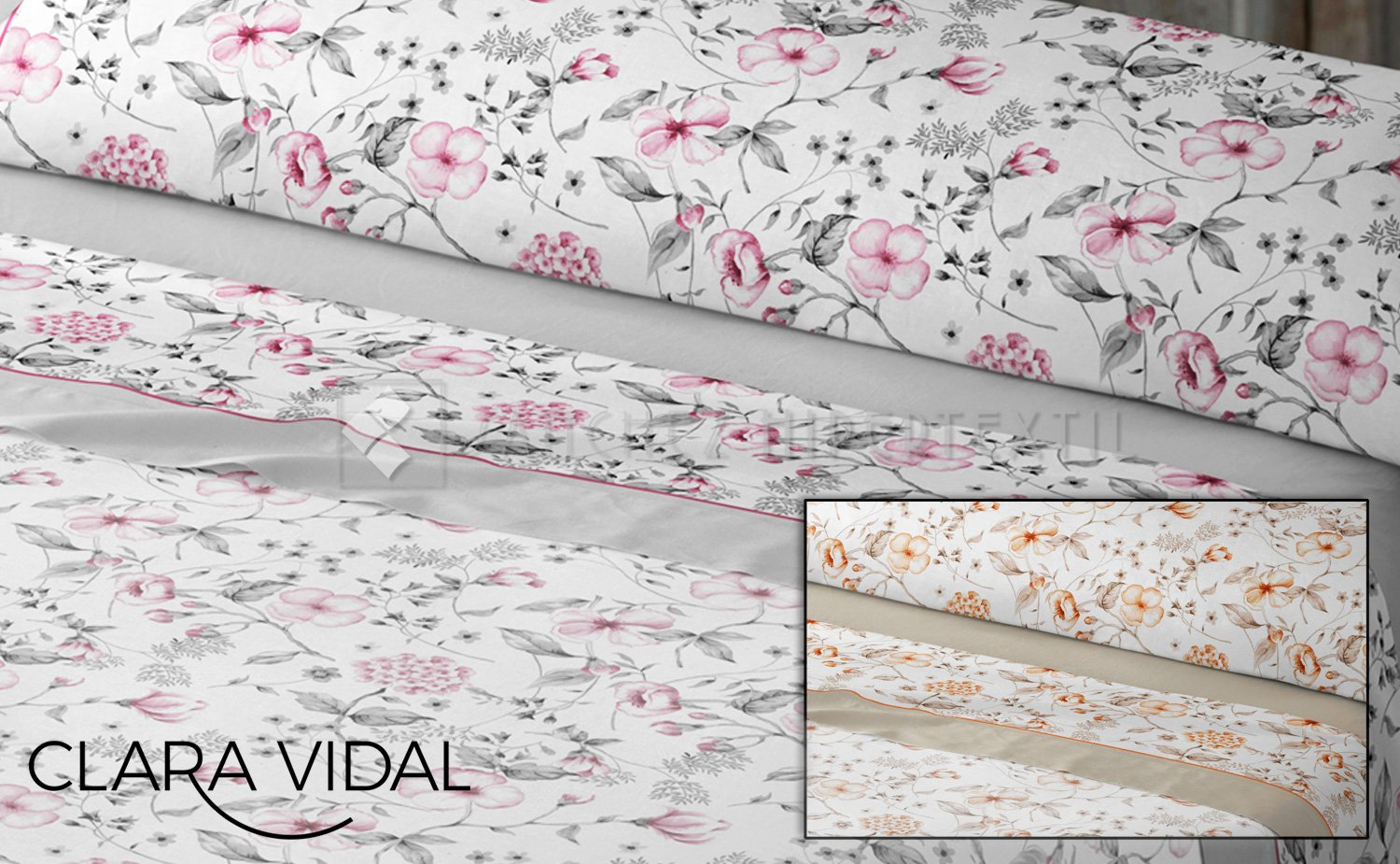 Bedding set 3 pieces Duisan by Clara Vidal