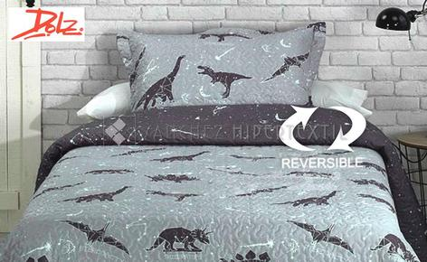 Reversible Boutí + Pillowcase JURASIC by Dolz.