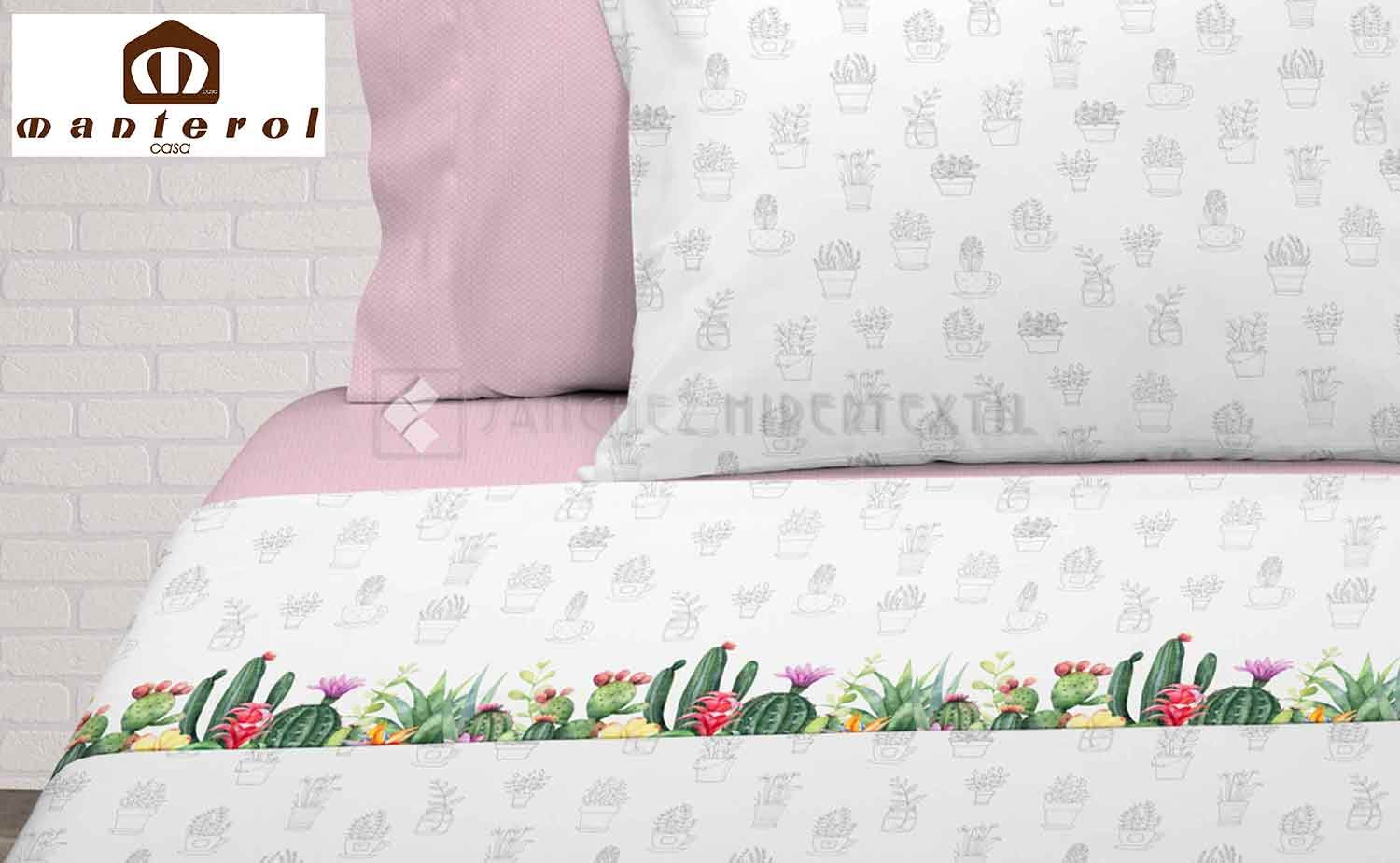 Bedding set 3 pieces CACTUS by Manterol.