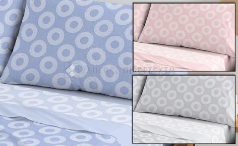 Bedding set 3 pieces 100% Cotton SOL de Bambù.