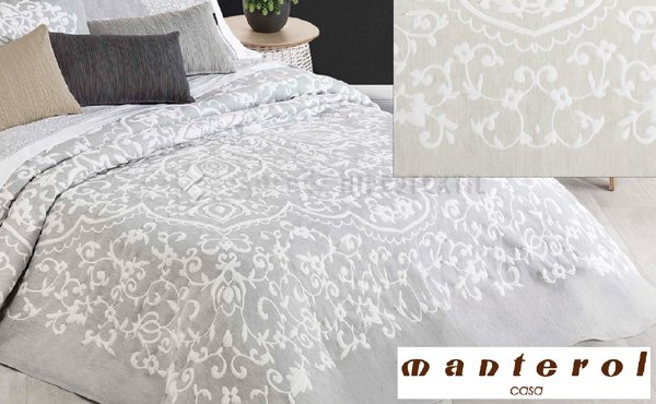 Reversible bedspread BOHO CHIC 683 by Manterol