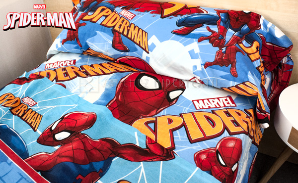 Set of sheets 3 pieces 100% cotton SPIDER-MAN LENZ 2911
