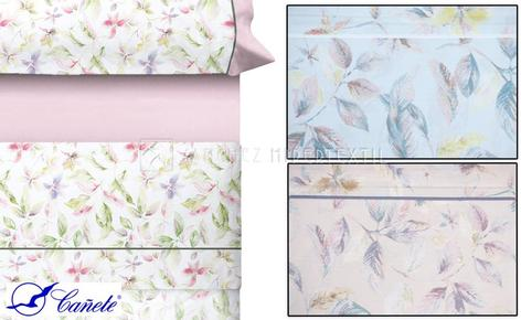 Bedding set 3 pieces 100% Cotton LASAS de Cañete.
