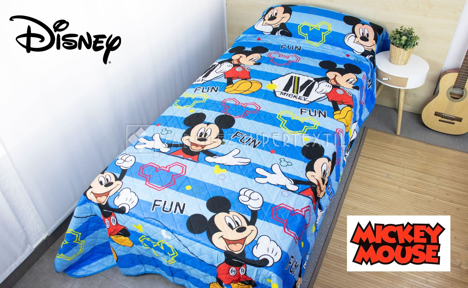 Childrens Boutí quilt - DISNEY MICKEY 039 -