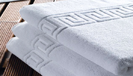 Towels and carpet hospitality GRECA