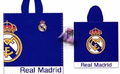 Poncho azul Real Madrid